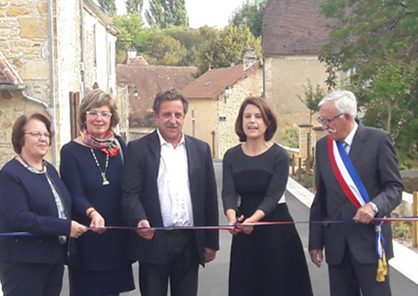 Excideuil : le bourg de St-Martial d'Albarède