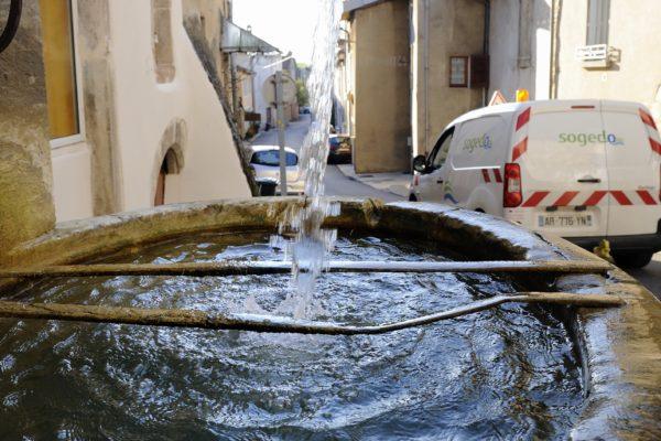 SOGEDO Saint-Amour JURA  recherche de fuite - Pose de compteur -Station de pompage - Nature source.