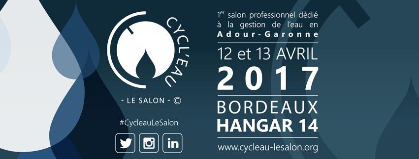 Salon Cycl'Eau 2017 : rendez-vous demain !