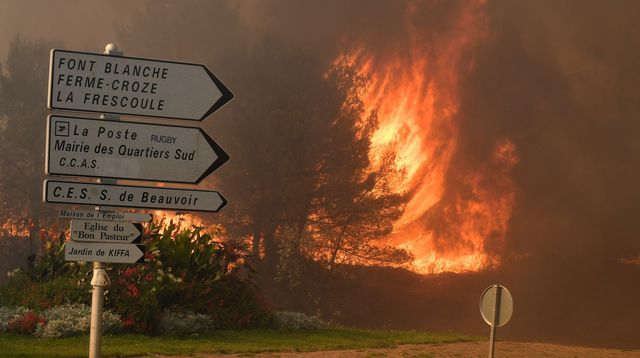 Incendies :  3 000 hectares déjà détruits