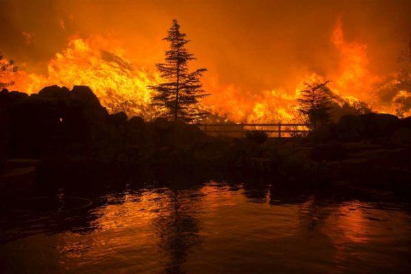 Californie incendies 10 10 17