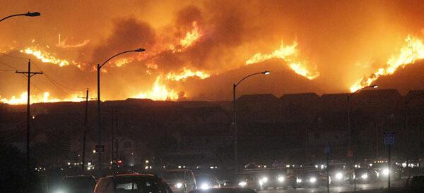 Californie incendies 14 10 17