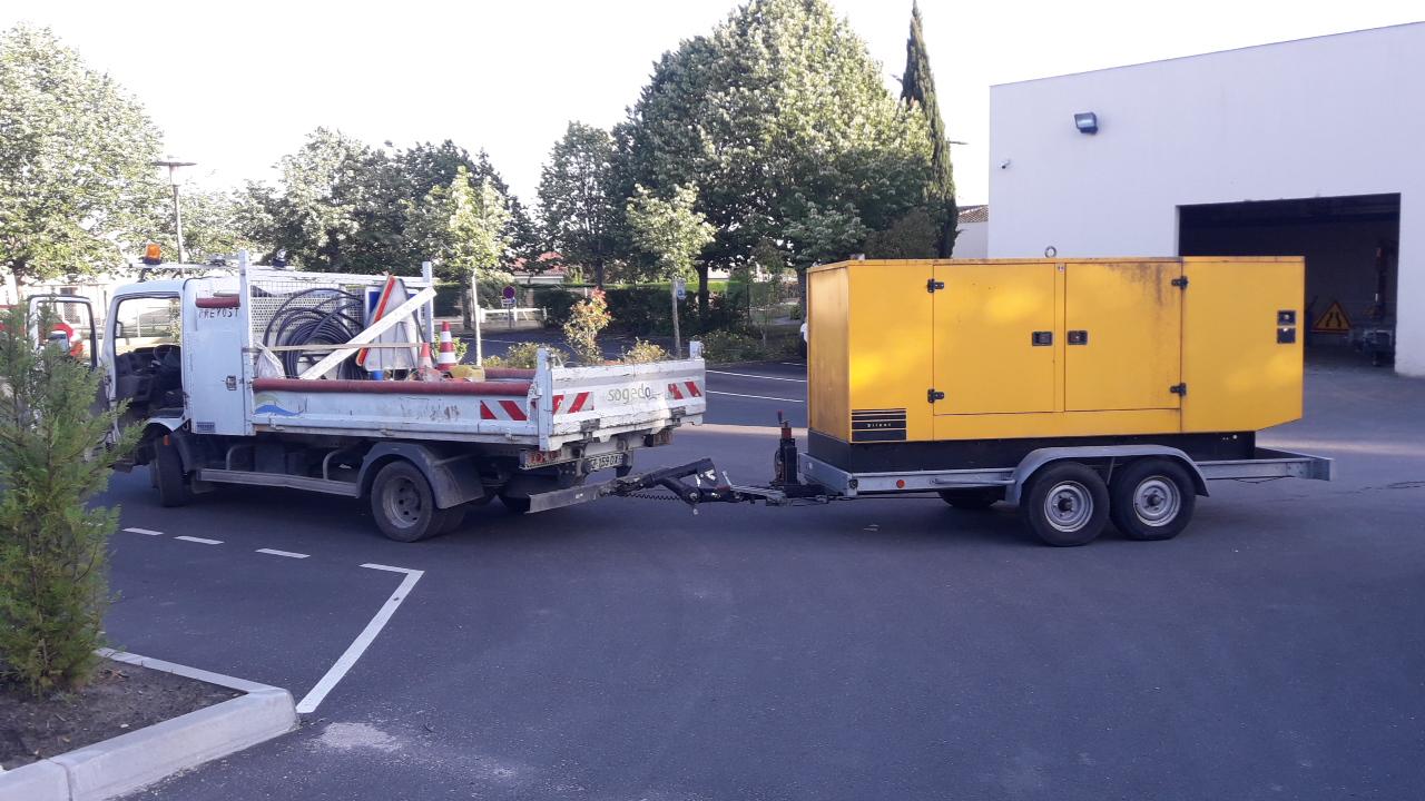 Gironde – tempête Miguel – Dordogne : mobilisation des agents Sogedo sur les terrains