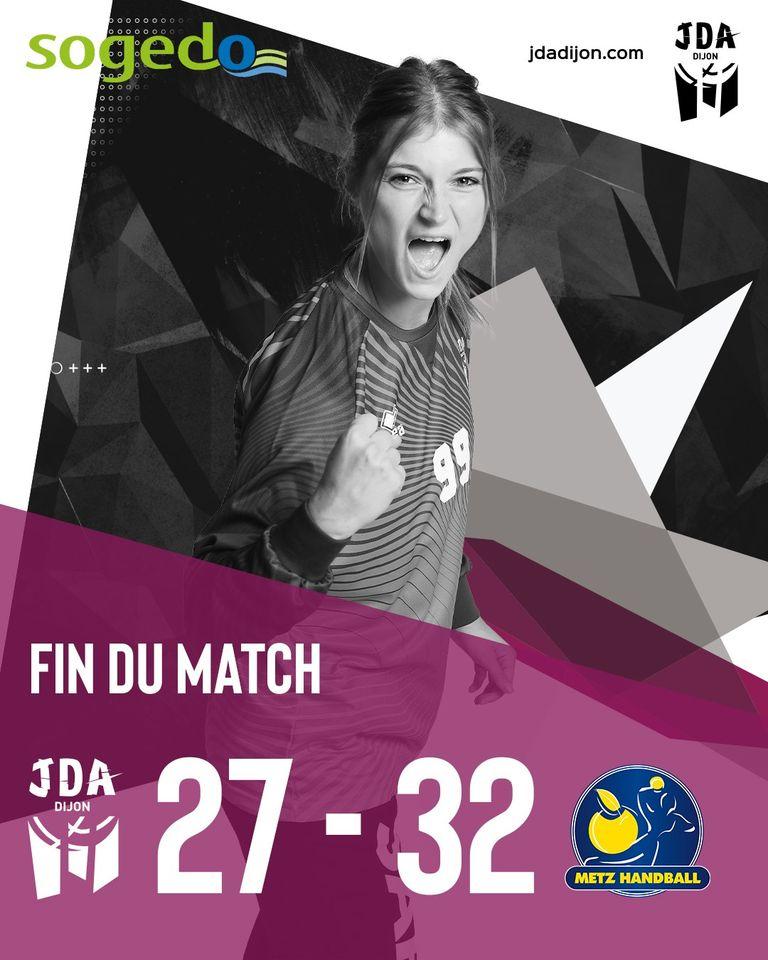 Dijon : bravo : match remarquable contre le leader Metz
