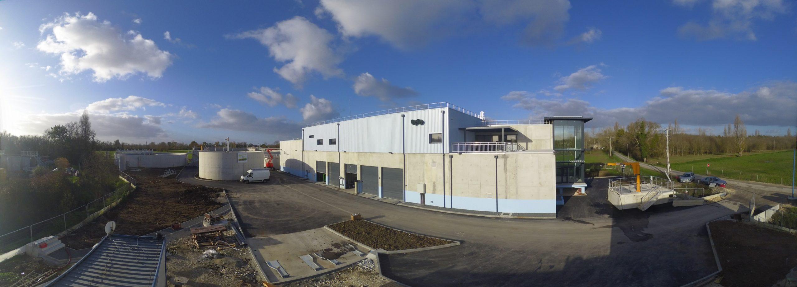 Gironde : bientôt la fin du chantier de la Step de Porto