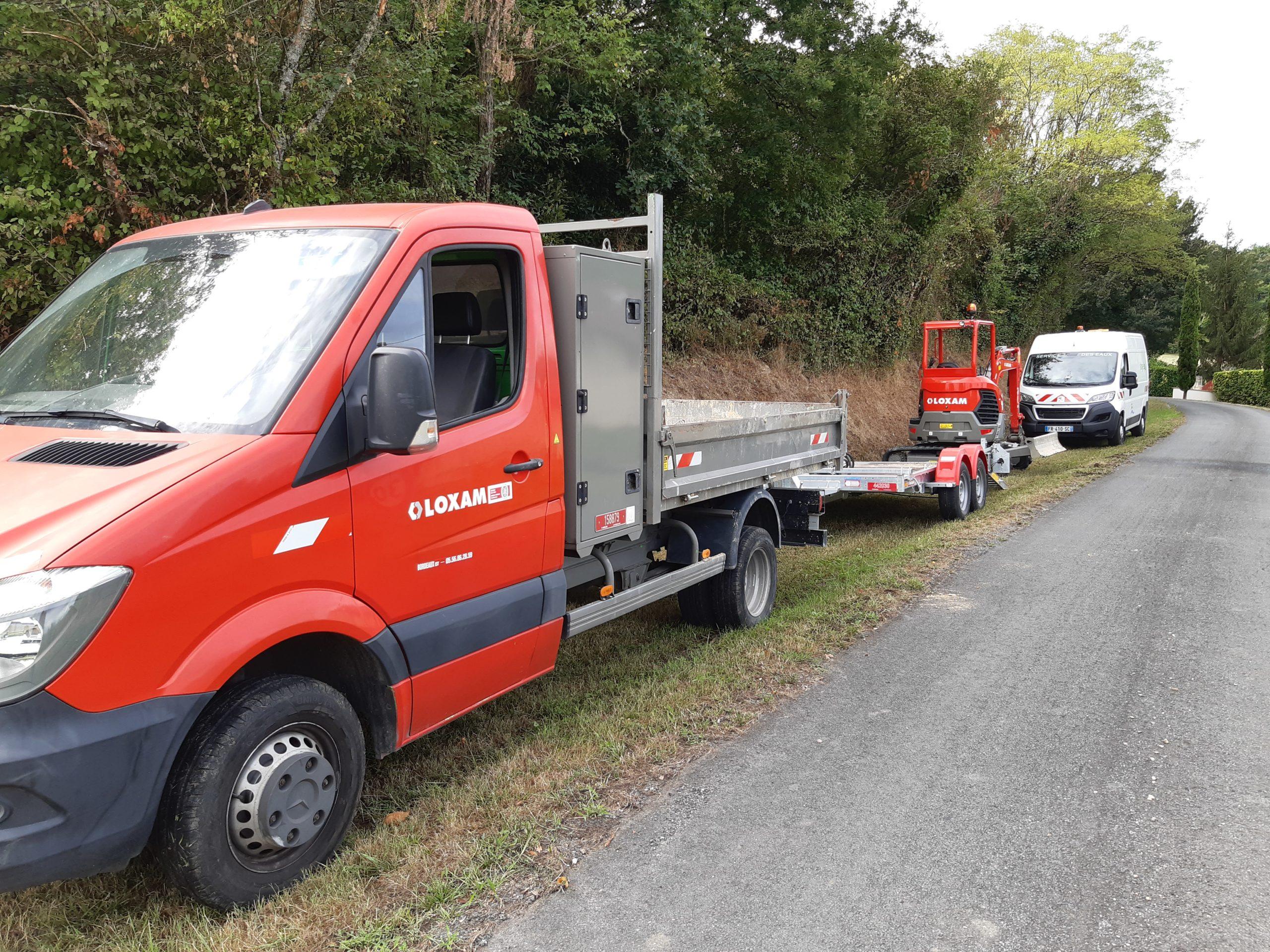 Ruch et Mauriac (Gironde) : flash info 03 (21 heures 53) : remise en eau opérée !