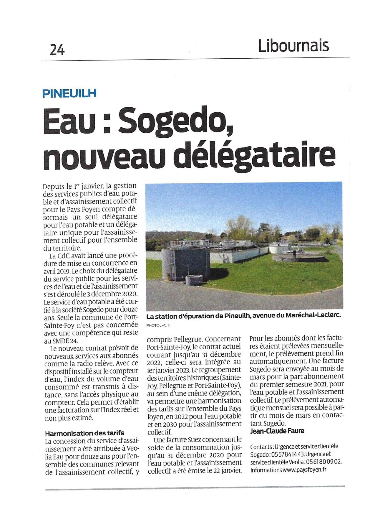 Pays Foyen (Gironde) : le point effectué par le quotidien Sud Ouest